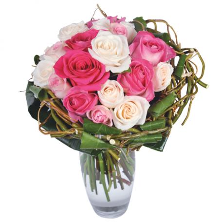 livraison de bouquet de roses