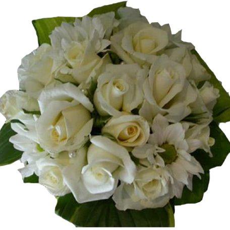 votre bouquet de mariée de roses