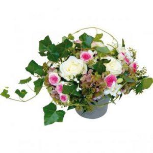 joli composition florale pastel romantique