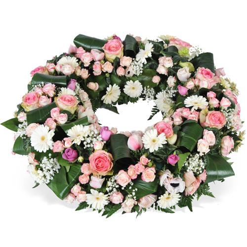 Couronne de fleurs livraison nancy for Livraison fleurs nancy