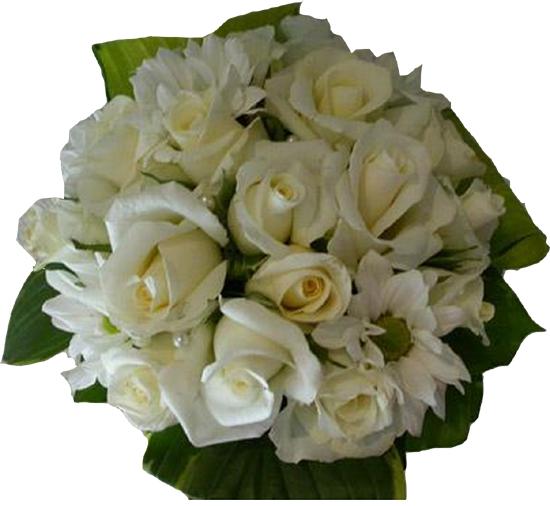 bouquet rond blanc pour votre mariage nancy pas cher. Black Bedroom Furniture Sets. Home Design Ideas