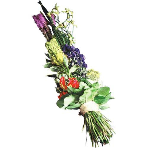 gerbe de fleurs moderne