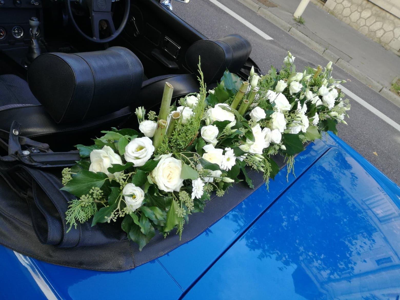 decoration voiture mariage
