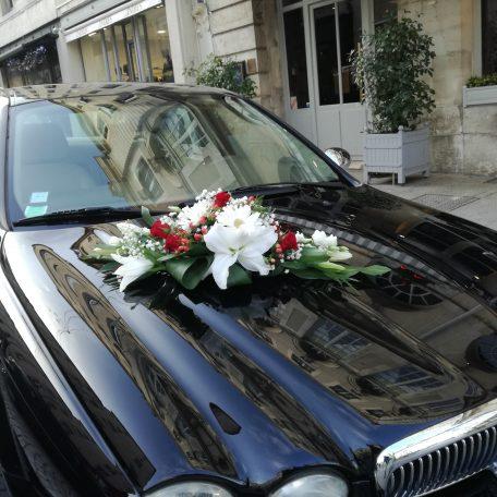 Décoration de voiture pour votre mariage